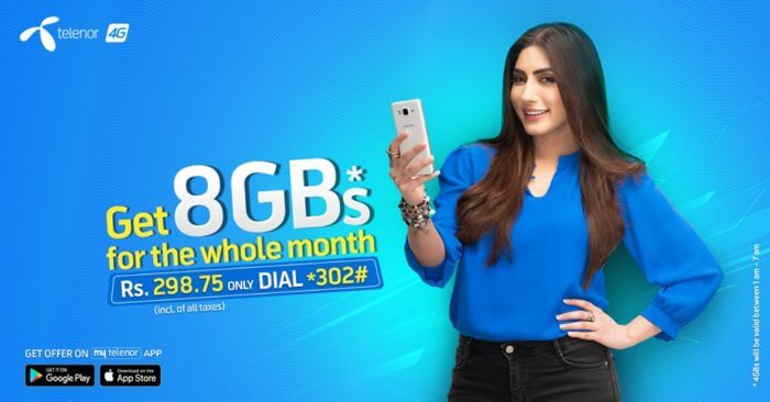 Telenor Monthly Internet Bundle