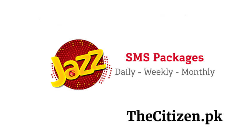 Jazz SMS Packages – Daily, Weekly, Monthly SMS Offers