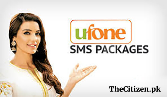 Ufone SMS Packages – Daily, Weekly, Monthly Internet Offers
